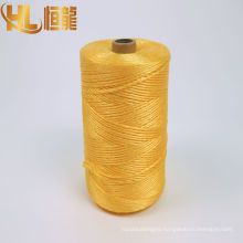 submarine cable winding yellow twisted pp yarn